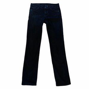 4/$40 - CLUB MONACO Black Straight Jeans - 29